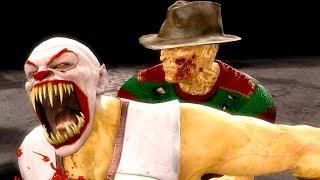 Mortal Kombat 9   All Fatalities & X Rays On Pennywise Baraka Costume Mod 4K Ultra HD Gameplay Mods