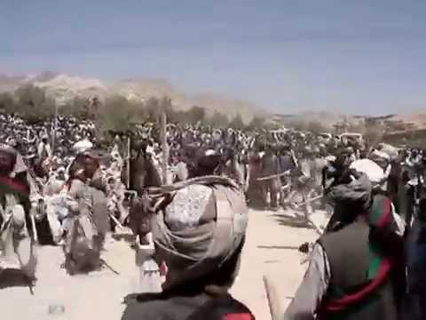 Almonds Festivals ( Gulle Badam ) Stick Dance In Nille the Capital Of Daikundi    YouTube