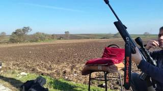 getlinkyoutube.com-Hatsan mod 125 Sniper Vortex 100 metre atışı