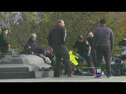 Califican de terrorismo el ataque en Canadá