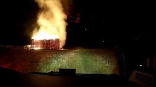 getlinkyoutube.com-BVFD Engine 3 Working Barn Fire Response