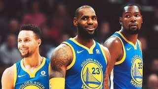 LeBron James Joins Stephen Curry and Kevin Durant on the Warriors (Parody)