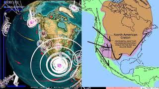 2/16/2018 -- Large Earthquake activity strikes Pacific -- Oregon, Washington, California on Watch