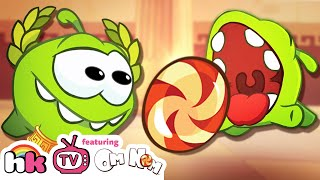 getlinkyoutube.com-Cartoon | Om Nom Stories: Ancient Greece | Funny Cartoons For Children | HooplaKidz TV
