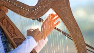getlinkyoutube.com-Harp Music Tibetan - Celestial Relaxing 432 hz Strings Solo Playlist for Study, Concentrate and Yoga