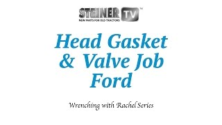 getlinkyoutube.com-Ford Tractor Head Gasket Replacement and Valve Job