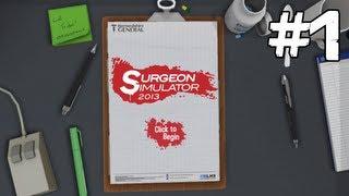 getlinkyoutube.com-Surgeon Simulator | Episodul 1
