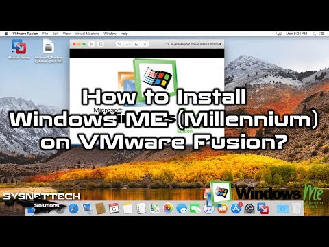 macOS Üzerinde Windows ME Kurulumu