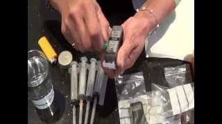 getlinkyoutube.com-How to Refill Printer Ink Cartridge