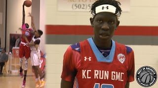 getlinkyoutube.com-Manute Bol's 16 year old son Bol Bol is a 6'11 PHENOM - Sophomore has size & shooting range!!!