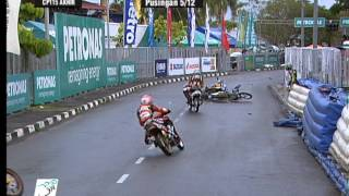 getlinkyoutube.com-2012 Season: Crash Compilation - PETRONAS AAM Malaysian Cub Prix Championship