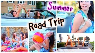 Summer Road Trip Essentials, Outfit & DIY Snacks!