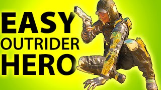 BLACK OPS 3 - HOW TO GET GOLD OUTRIDER HERO ARMOR