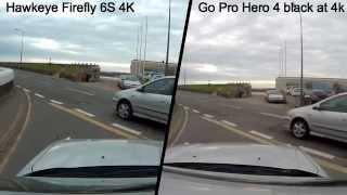 getlinkyoutube.com-Go Pro Hero 4 Black VS Hawkeye Firefly 6S
