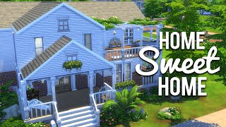 getlinkyoutube.com-The Sims 4 Speed Build - Home Sweet Home - Part 1