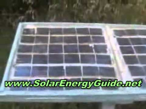 How to Build Your Own Home Made SOLAR PANEL to Generate FREE Electricity -unyrGBO4v9I