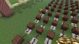 getlinkyoutube.com-Lupang Hinirang Minecraft Noteblock Song