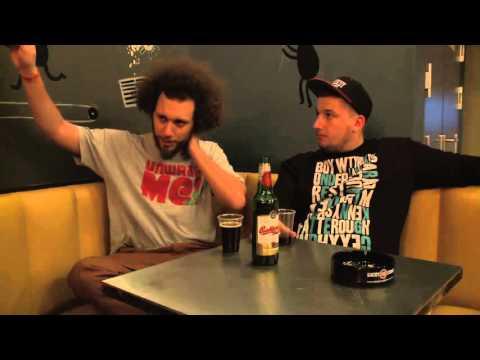 MC Gey - rozhovor - Ty Nikdy Label v Rock Café ( prosinec 2012)
