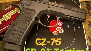 getlinkyoutube.com-CZ 75 SP-01 Tactical 9mm Pistol