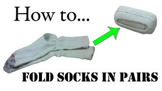 getlinkyoutube.com-Army Packing Hack: How to Fold Your Socks in Pairs (Double Roll) - Ranger Roll Basic Training