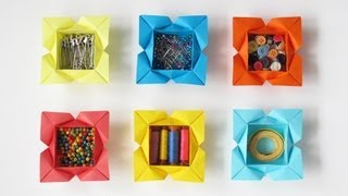 Make a Valentine's Box with Hearts in the Corners