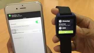 getlinkyoutube.com-How to Pair SpeedUp Smartwatch SW-1 with iPhone 6
