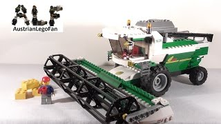 getlinkyoutube.com-Lego City 7636 Combine Harvester / Mähdrescher - Lego Speed Build Review