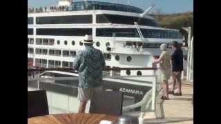 getlinkyoutube.com-Panama Canal from Penthouse 6148 on Celebrity Infinity