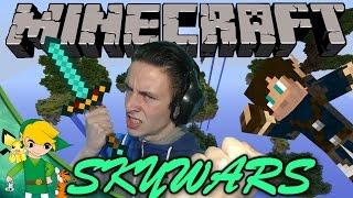 getlinkyoutube.com-LINK VS HARM! - Minecraft SkyWars [Ft. HetGameS]