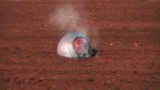 getlinkyoutube.com-Dragon Ball saiyan spaceship. Nave saiyajin cayendo a la tierra.