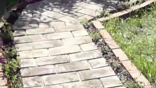 getlinkyoutube.com-uite ce poti face cu tigla veche ( Look what you can do with old tiles)tigla proiect