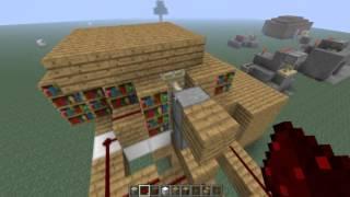 getlinkyoutube.com-Minecraft 1.5.2:ประตูลับสุดง่าย