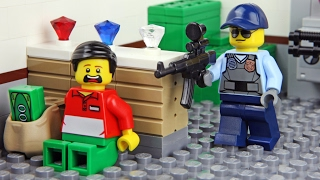 getlinkyoutube.com-Lego Bank Robbery - Invisible Man