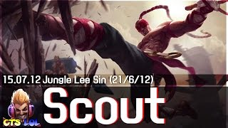 getlinkyoutube.com-138. Scout - 리 신 하이라이트 / Lee Sin Highlights