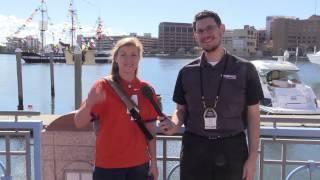 getlinkyoutube.com-Clemson & Alabama Fans in Tampa Bay for the CFP Fan Experience