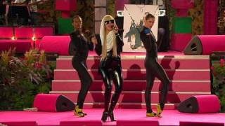 getlinkyoutube.com-Lady GaGa - Just Dance (Live Sommarkrysset 30.8.2008) - HD