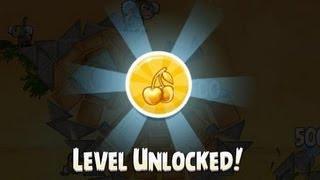 getlinkyoutube.com-Angry Birds Rio All Golden Cherry Kirsche BeachBall Walkthrough 3 Stars Lösung