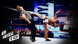 getlinkyoutube.com-Referees Get Wrecked: WWE Top 10