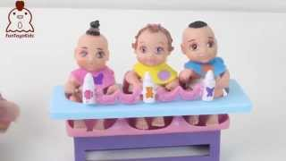 getlinkyoutube.com-Petit Baby Hora da Papinha FunToysKids Brinquedos em Portugues