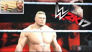 getlinkyoutube.com-WWE2K17 RAGING FAT MAN WANTS REVENGE! Brock Lesnar HELL IN A CELL CHAMPIONSHIP MATCH!