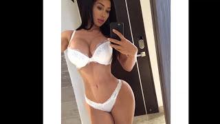 getlinkyoutube.com-Joselyn Cano - Sexy Lingerie, Bikini Model - Gym Workout Routines