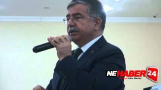 Bakan İsmet Yılmaz Erzincan'da Ak Parti Toplantısına Katıldı