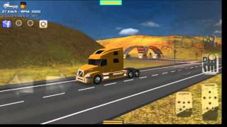 getlinkyoutube.com-Grand Truck Simulator - Engine Brake / Jake Brake / Freio motor / Freno motor