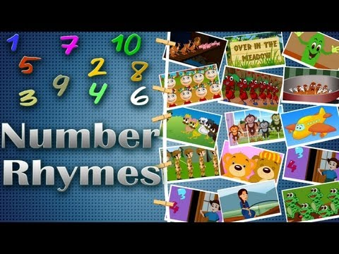 Edewcate rhymes Collection - Number Rhymes Volume 1