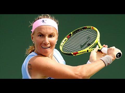 2016 Miami Open Semifinals | Svetlana Kuznetsova vs Timea Bacsinszky | WTA Highlights