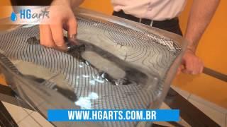 getlinkyoutube.com-KIT Iniciante - Demonstração de USO - HGArts Brasil