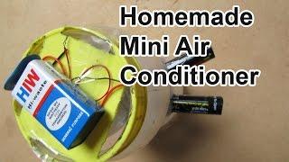 getlinkyoutube.com-Homemade Mini Air Conditioner - Easy Tutorials