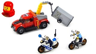 getlinkyoutube.com-Lego City 60137 Tow Truck Trouble Lego Speed Build