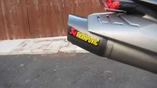 getlinkyoutube.com-09 Triumph Daytona 675 Full AKRAPOVIC RACE EXHAUST