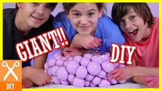 getlinkyoutube.com-DIY GIANT SQUISHY SLIME STRESS BALL!! Bubble or Infectious disease stress ball! |  KITTIESMAMA